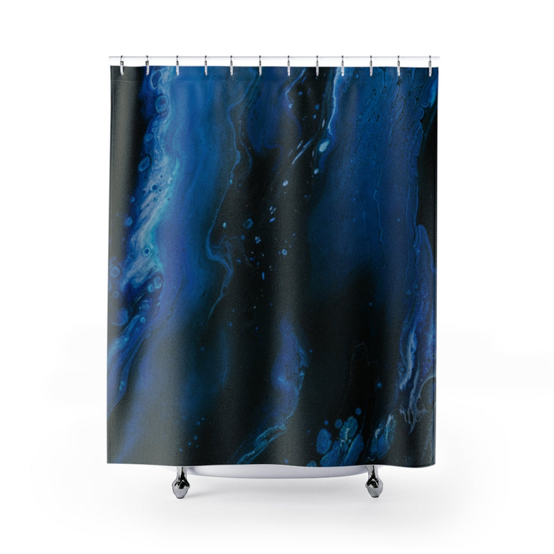 Abstract Wave Shower Curtains - Shopoya