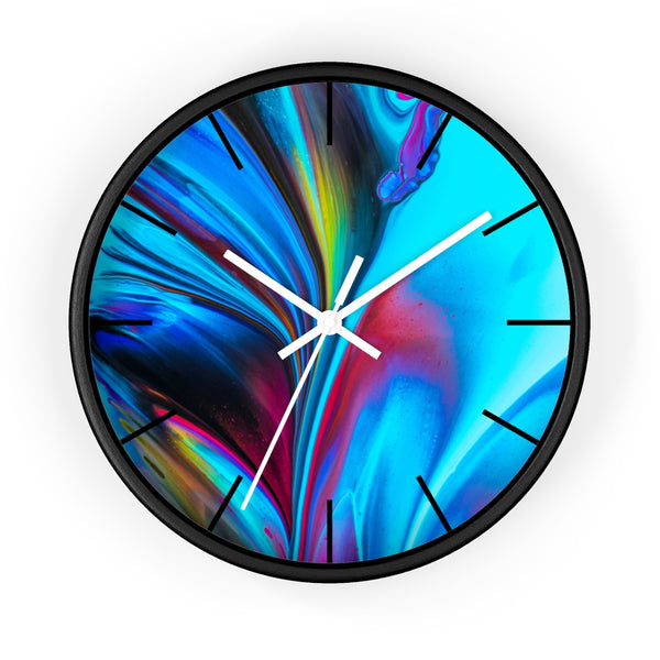 Abstract Swirl Wall clock - Shopoya