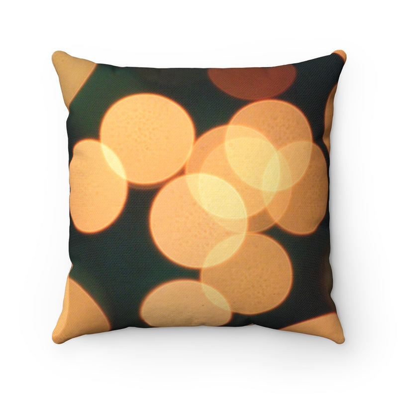 Bokeh Throw Pillow - Shopoya