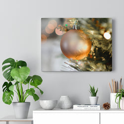 Golden Ornament Canvas Print - Shopoya