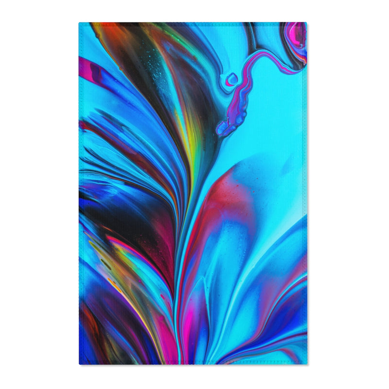 Abstract Swirl Area Rug - Shopoya