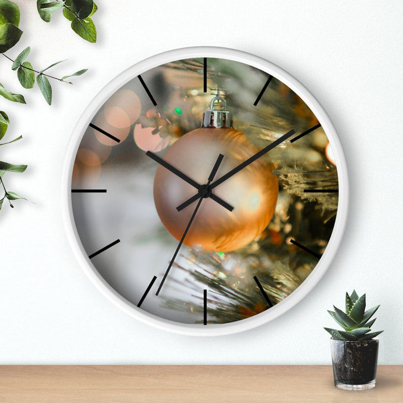 Golden Ornament Wall clock - Shopoya
