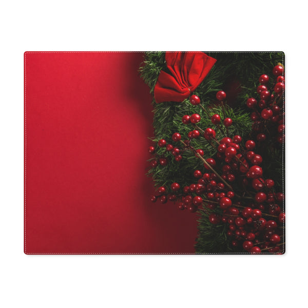 Red Xmas Placemat - Shopoya