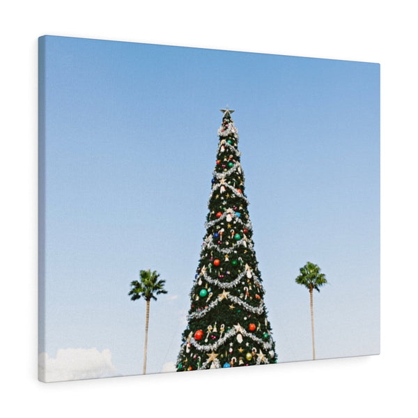 L.A. Xmas Canvas Print - Shopoya
