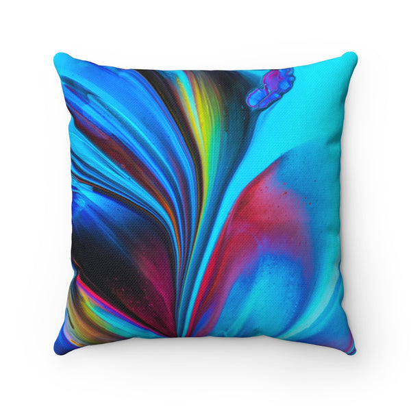 Abstract Swirl Throw Pillow - Shopoya