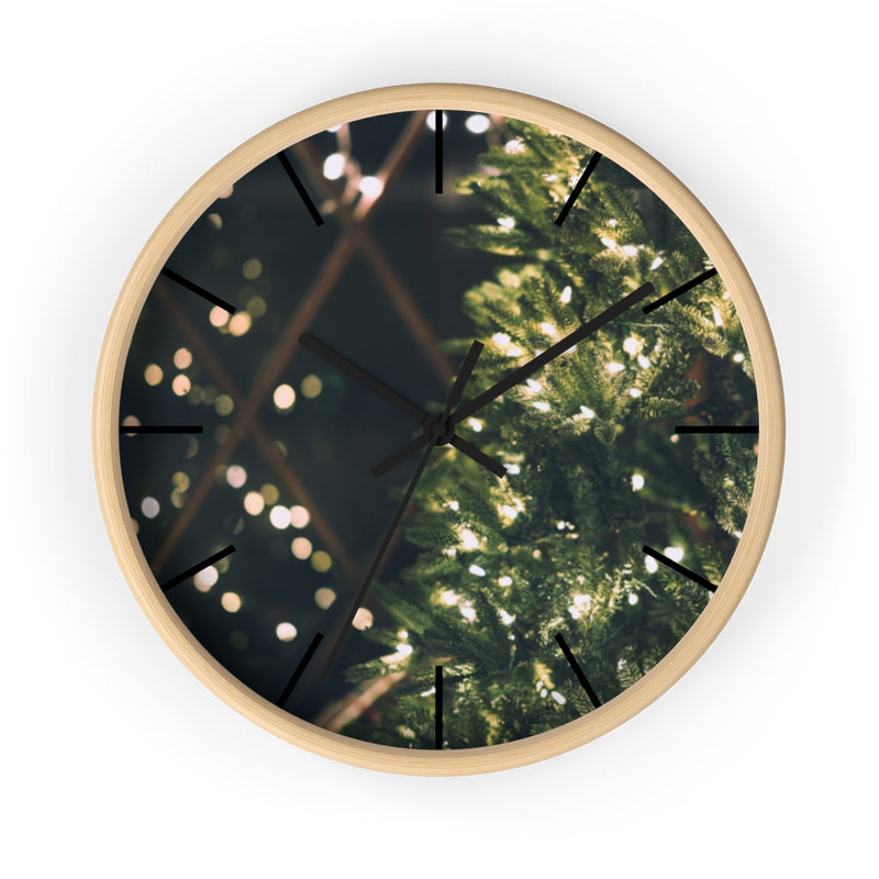 Xmas Lights Wall clock - Shopoya