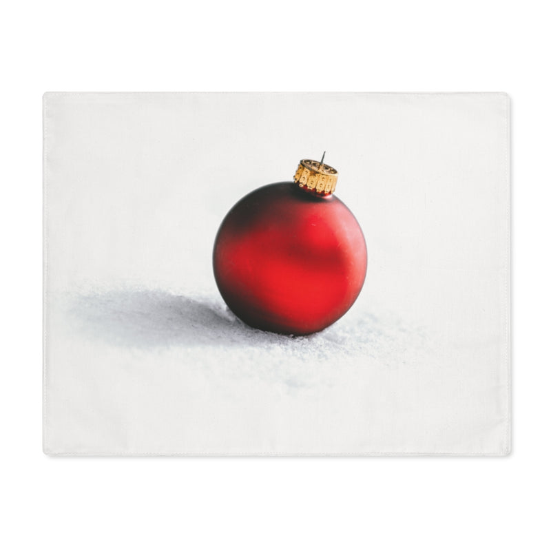 Red Ornament Placemat - Shopoya
