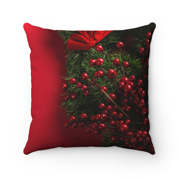 Red Xmas Throw Pillow - Shopoya