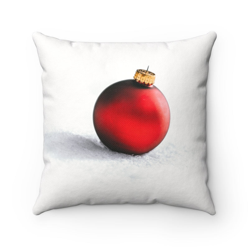 Red Ornament Throw Pillow - Shopoya