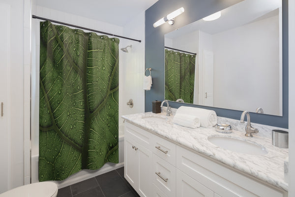 Leaf Shower Curtains - Shopoya