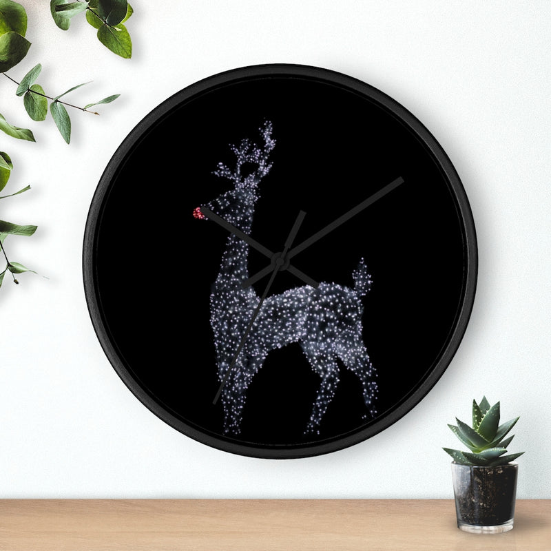 Reindeer Wall clock - Shopoya