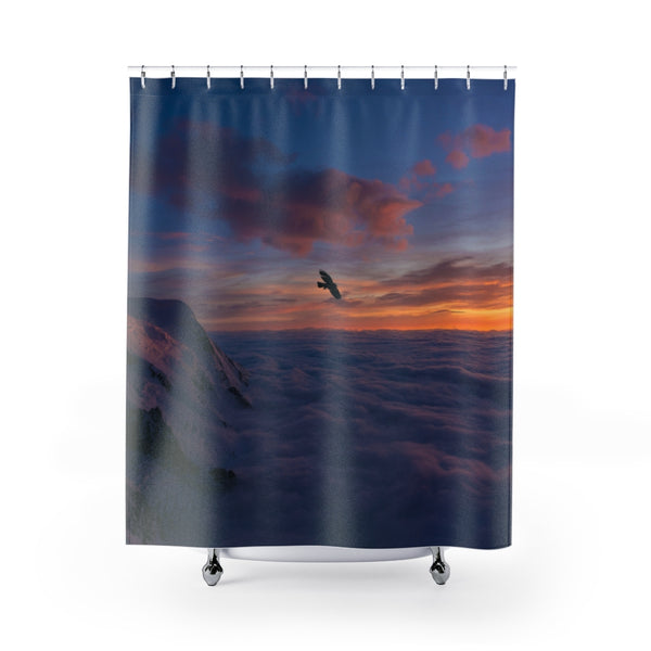 Above Clouds Shower Curtains - Shopoya