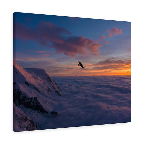 Above Clouds Canvas Print - Shopoya