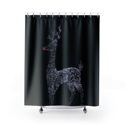 Reindeer Shower Curtain - Shopoya