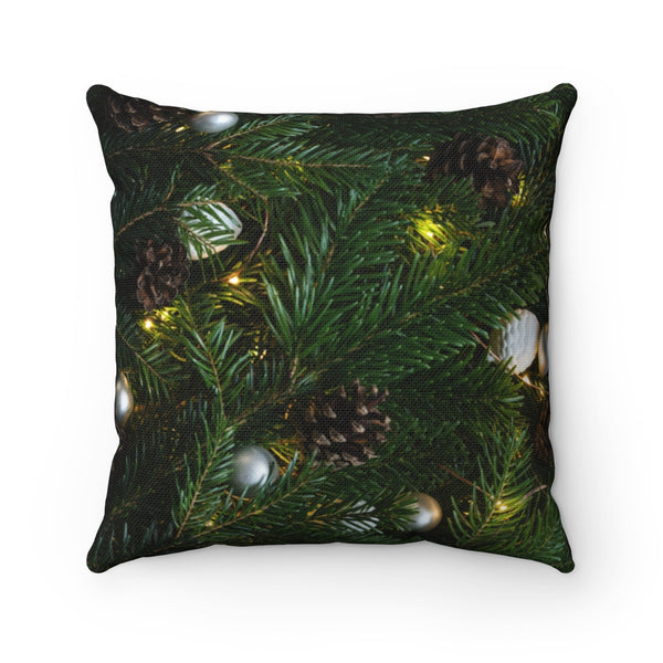 Xmas Tree Throw Pillow - Shopoya