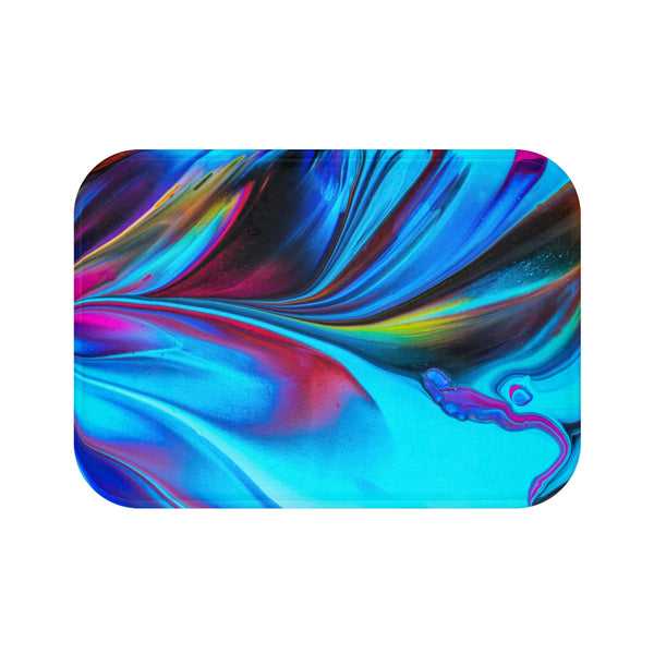 Abstract Swirl Bath Mat - Shopoya