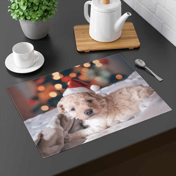 Xmas Puppy Placemat - Shopoya