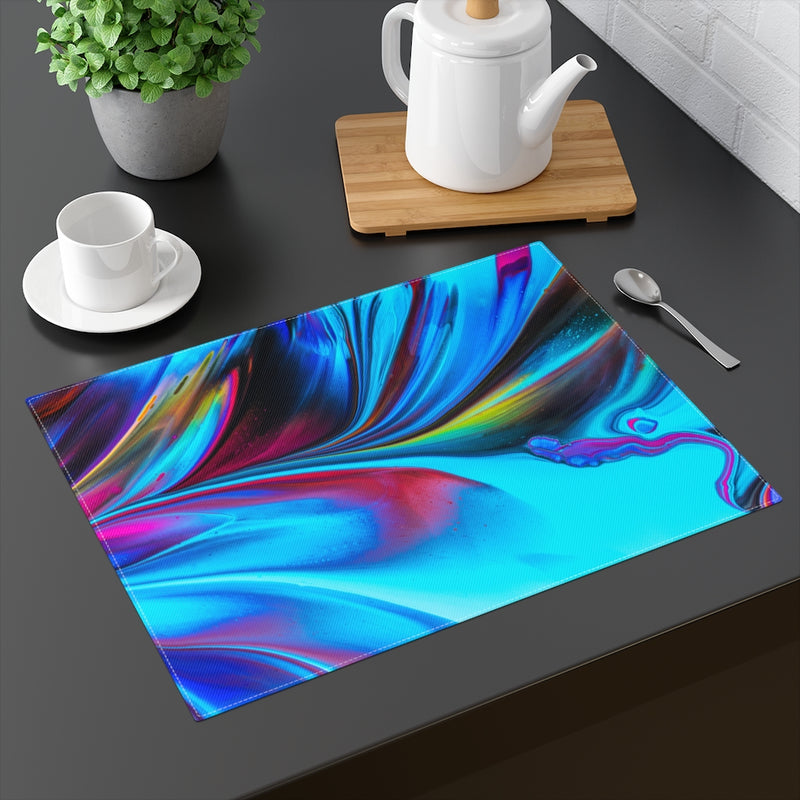 Abstract Swirl Placemat - Shopoya