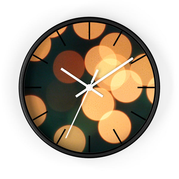 Bokeh Wall clock - Shopoya
