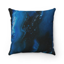 Abstract Wave Throw Pillow - Shopoya
