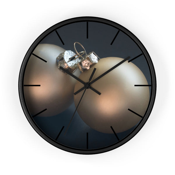 Golden Ornaments Wall clock - Shopoya