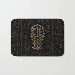 Shopoya Viking Compass Bath Mat - Shopoya