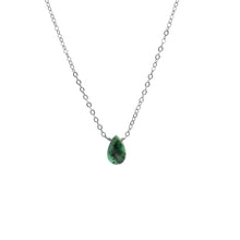 Load image into Gallery viewer, Emerald Solo Necklace