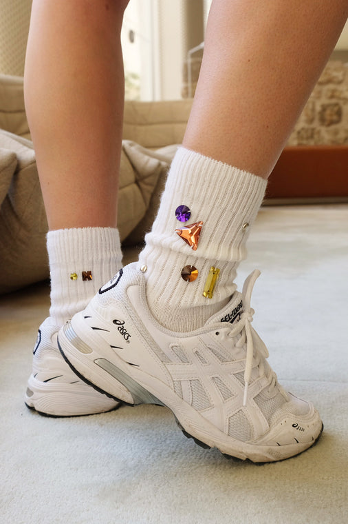 Frida Bejeweled Socks