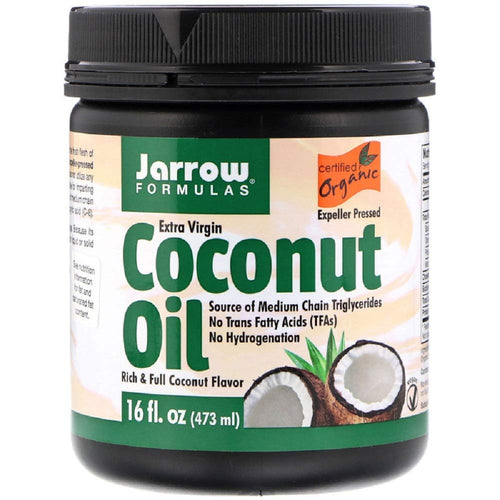 Coconut Oil - Aceite de Coco- Jarrow - Botiqui