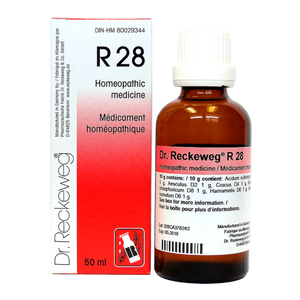 R28 Gotas - Dr Reckeweg - 50ml - Botiqui