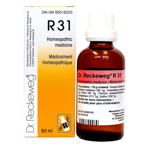 R31 Gotas - Dr Reckeweg - 50ml - Botiqui