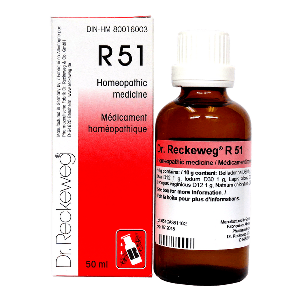 R51 Gotas - Dr Reckeweg - 50ml - Botiqui