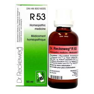 R53 Gotas - Dr Reckeweg - 50ml - Botiqui