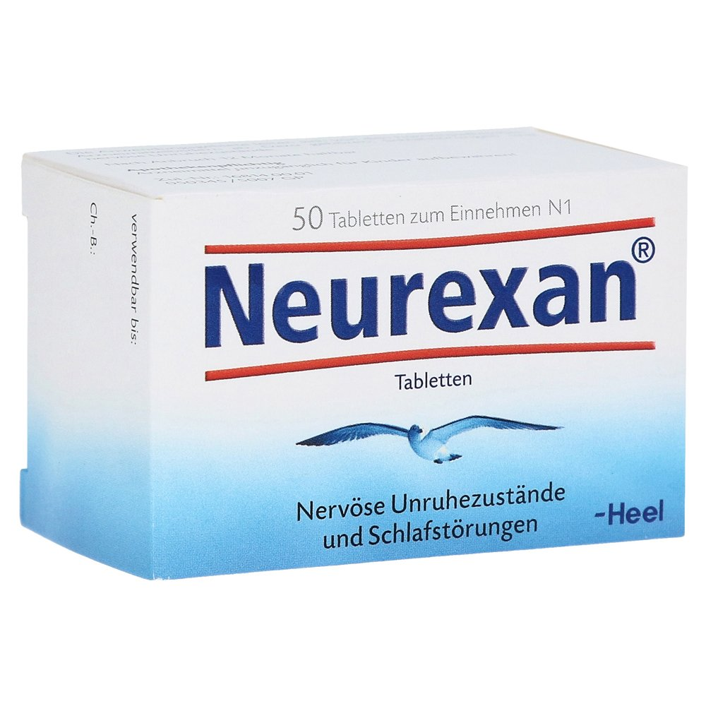 Neurexan - Heel - 50 Tabletas - Botiqui