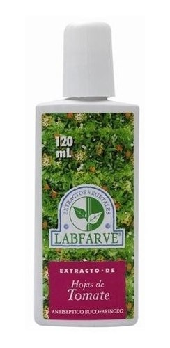 Enjuague Bucal Hojas de Tomate - Labfarve - 120ml - Botiqui
