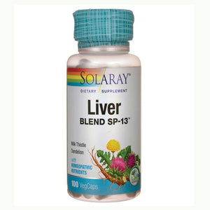 LIVER BLEND - Solaray - 100 tabletas