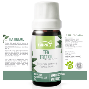 Tea Tree Oil - Funat - 10ml - Botiqui