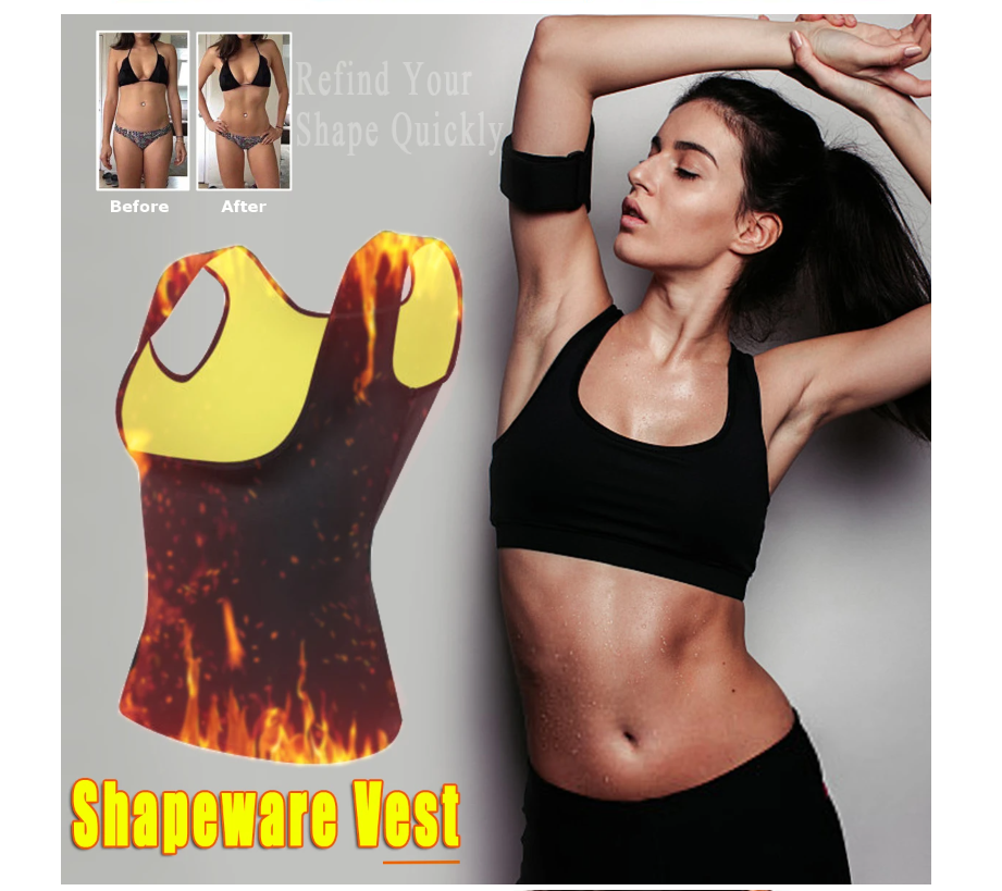 Women's Slimming Hot Sweat Vest Body Shaper