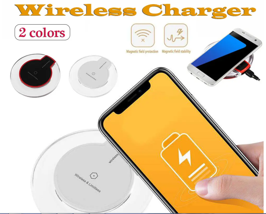 Fast Charging Ultra-Thin Wireless Charger Pad