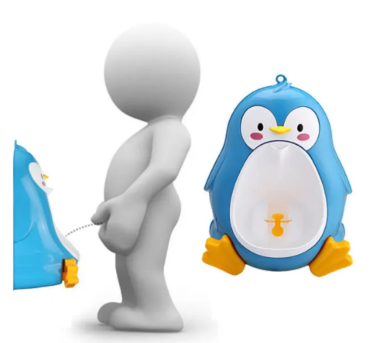 Lovely Penguin Baby Urinal - Toddler Potties Boys Pee Trainer  Removable  Toilet