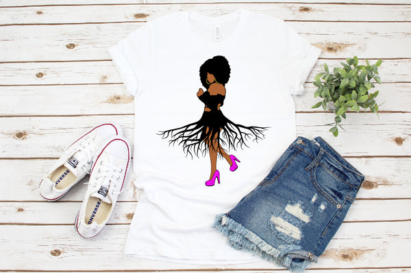 Afro Roots SVG - Queen clipart African American africa png dxf eps jpeg png black  Woman Bundle svg, Afro queen, black power, Black woman svg, black girl svg, black queen svg, thick women svg, curvy svg, svg, thick girls
