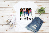 Black Sistas Queen Melanin African American Women, Black woman svg, black girl svg, black queen svg, thick women svg, curvy svg