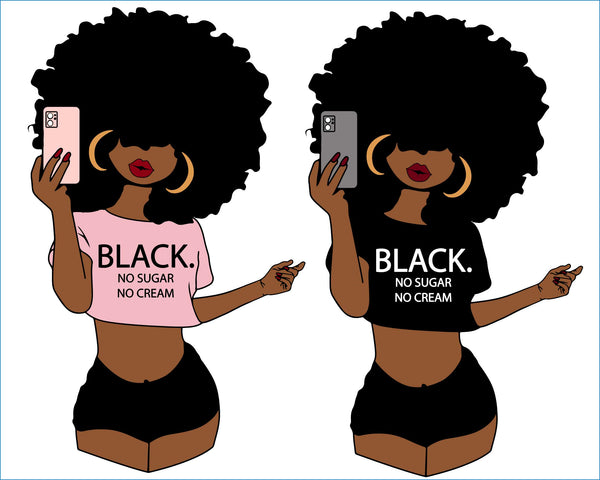 Afro Selfie Diva Pretty Face Melanin Black Woman Nubian, Woman Bundle svg, Afro queen, happy Kwanzaa, Black woman svg, black girl svg, black queen svg, Kwanzaa, celebration, culture, swahili, black girl magic svg african Magic Poppin Drippin