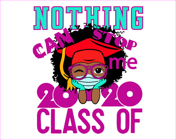 Peekaboo girl, Nothing can stop me class of 2020, Cute black African American kids  CricuT, African American clipart, Graduation Svg