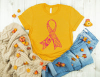 Survivor svg,Awareness ribbon svg, mandala awareness ribbon svg, silhouette, cricut, decal, vinyl, digital file, cancer ribbon, awareness