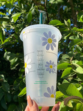 Load image into Gallery viewer, Flower Starbucks Cup