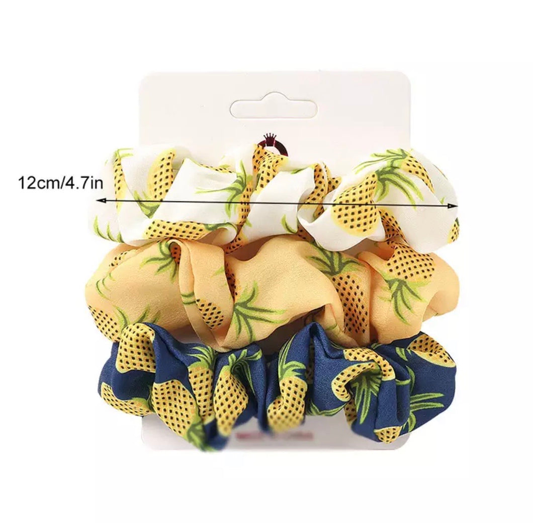 Pineapple Scrunchies