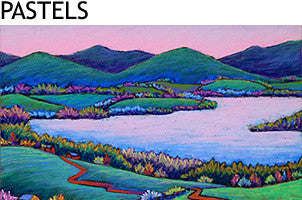 Pastel Paintings by Vermont Artist Daryl Storrs