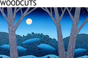 Woodcut Prints by Vermont Artist Daryl Storrs