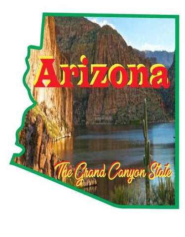 Arizona Sticker Decal R7017
